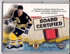 2001-02 Greats of the Game Board Certified #4 Cam Neely