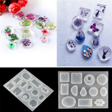 Silicone Pendant Mold Making Jewelry Tool For Resin Necklace Mould Casting Craft