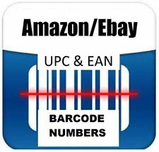 5000 UPC EAN Codes For Listing On Any  eCommerce Marketplace !Lifetime Validity