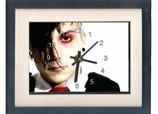 My Chemical Romance. Frank Iero. Framed print and clock. Music memorabilia. NEW.