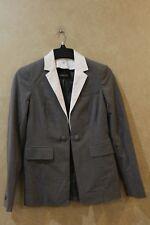 Carlise 97% Wool  Jacket Size 2 Grey Retail $565 _______________________ Hang