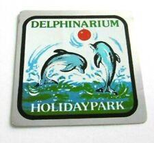 Souvenir-Aufkleber Holiday-Park Delphinarium Haßloch Pfalz Delfinarium 70er 80er
