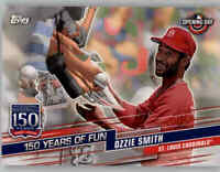 2019 Topps Opening Day 150 Years of Fun Insert #YOF-10 OZZIE SMITH Cardinals