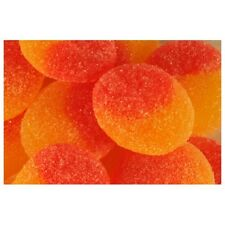 Kingsway Fizzy Peaches Peach Jellies Gummy Party/Novelty Retro Sweets 1KG