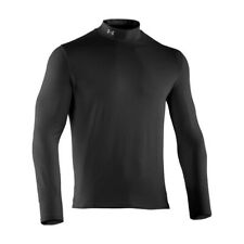 Under Armour ColdGear Infared Tactical Mock Neck Thermal Black, Size 2XL