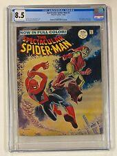SPECTACULAR SPIDER-MAN #2 Marvel Comics 1968 CGC 8.5 Green Goblin Cover Story