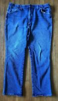 Mens Wrangler Western Stretch Regular Fit Made In U.S.A. Jeans 947STR Size 42x32