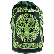 Tree of Life Canvas Backpack Rucksack Featuring Celtic Knots