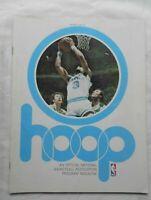 1976-1977 Basketball Hoop Magazine, Randy Smith on Cover Buffalo Vs Denver