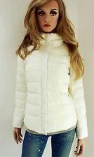 MARCCAIN Giacca da donna piumino invernale seidenspitze N1 34 36 XS Crema