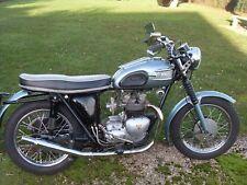 Triumph 3TA  1959 UK Motorcycle