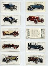 Full Set, Lambert & Butler, Motor Cars 3rd Series, 1926 VG+ (Gb1669-491)