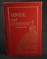 Advise and Consent Allen Drury Easton Press Leather Book Collectors Ed