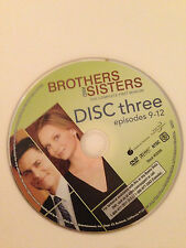 Brothers And Sisters - Season 1- Disc 3 ( DVD) DVD Disc Only - Replacement Disc