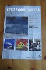 THE BE GOOD TANYAS - HELLO LOVE - ADVERT 20.5 x 29.5cm.