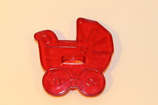 Vintage Design HRM Red Cookie Cutter - Baby Stroller Carriage Buggy Baby Shower