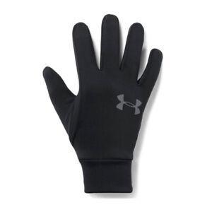 Under Armour Liner 2.0 Mens Running Training Gloves Black