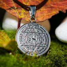 Om Mani Padme Hum Anhänger Talisman Zeichen Silber 925 Amulett 5 cm