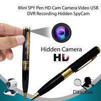Mini DV DVR Camera Hidden Spy Pen Video Camera Recorder Camcorder USB Ballpoint