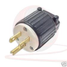Enchufe de EE. UU. América Rewireable Nema 5/15P, fuente de alimentación, servicio pesado.
