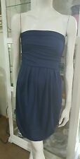 Kookai strapless dress.Sz2.Midnight blue.Stretch bodycon.As new