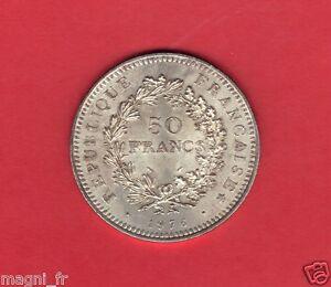 50 Francs argent - 1976