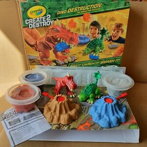 Crayola Dinosaurs Create 2 Destroy Dino Destruction Metropolitan Mayham NEW.