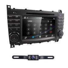 For Mercedes Benz W203 C200 C230 W209 CLK Radio DVD GPS Navi Car Stereo Camera E