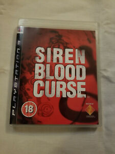 Siren Blood Curse (PS3) Boxed with manual