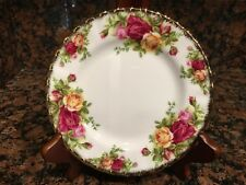 Royal Albert Old Country Roses Bread Plate, Vintage 1962 English Fine China
