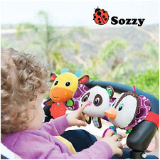 Sozzy Musical Baby Toys Stroller Cot Bed Hanging Crib Mobile Soft Panda Deer