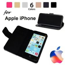 Luxury Magnetic Leather Flip Case Wallet Cover For Apple iPhone 8