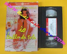 VHS film IO BALLO DA SOLA Liv Tyler Jeremy Irons CECCHI GORI 0091 (F110) no dvd