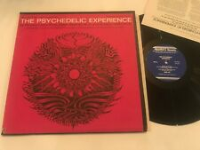 The Psychedelic Experience Timothy Leary Tibetan w/ Book 1966 LSD Record Vinyl