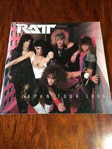 """RATT"" Tourbook Japan Tour 1986 Booklet"