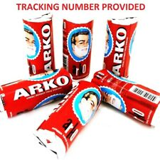 Arko Shaving Stick Soap for Shaving Brush and Safety Razor 75gr (2.64 oz)
