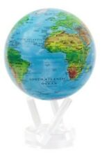 Blue w/Relief Map MOVA Globe 8.5""