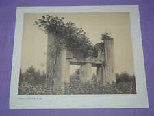 "Edward Curtis Native American Indian Vintage Photo Print ""HAIDA CHIEF'S TOMB YAN"