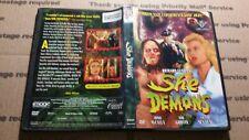 She Demons (DVD, 2001) 1958, Richard Cuhna, Irish McCalla, Tod Griffin, Victor S
