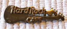 Early Hard Rock Cafe Sterling Silver 2 Year Double Guitar Employee Service Pin