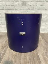 """More details for premier olympic floor tom drum shell 16""""x15"""" bare wood project / upcycle"""
