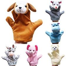 FP- AU_ Amazing Cute Baby Child Zoo Farm Animal Hand Glove Puppet Finger Sack Pl