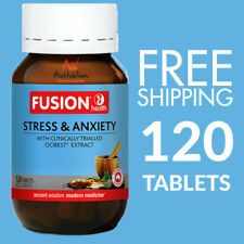 Fusion Stress & Anxiety 120 Tablets | Fusion Stress and Anxiety