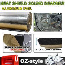 32Sqft 394mil Car Heat Shield Sound Deadener Insulation Noise Reduce Muffler Mat