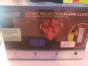 Alarm Clock Projection LED with IN/OUT Temp