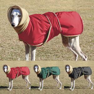Dog Coats Waterproof with Harness Hole&Hood Fleece Large Pet Clothes Jacket 3XL