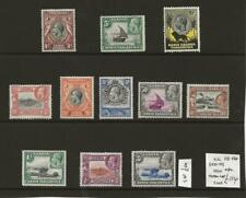 East Africa Uganda KUT Fine MINT KGV Collection to 3s SG11-120 Cat £114