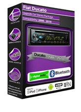 Fiat Ducato DAB Radio, Pioneer Stereo CD USB AUX-Eingang Player, Bluetooth Satz