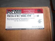 60 Polaris PBC26-4 Intersystem Bonding Lugs, Grounding Connectors Ideal