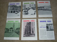 GOSPEL CALL Magazine of the Eastern European Mission (6) issues 1974-1975